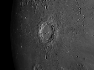 Copernicus - Interesting Object Visible on the Moon the week of February 1st