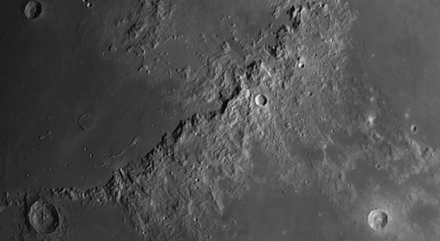 The Apennine Mountain Range: The Most Spectacular Feature on the Moon