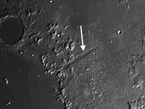 alpine valley on the moon