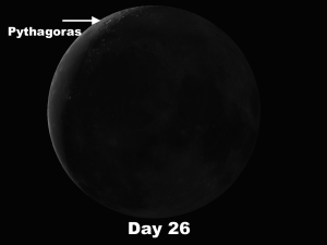 Lunar Objects the week of April 4 – 10 The complex crater Pythagoras and Arcturus Lighting Up the 1933 World's Fair in Chicago.png