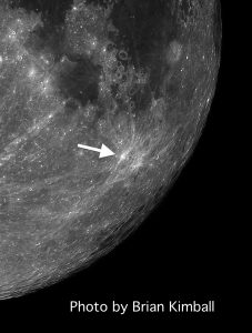 Furnerius A Tiny Moon Crater Can Splash its Debris Over Nearly Half of the Moon's Surface