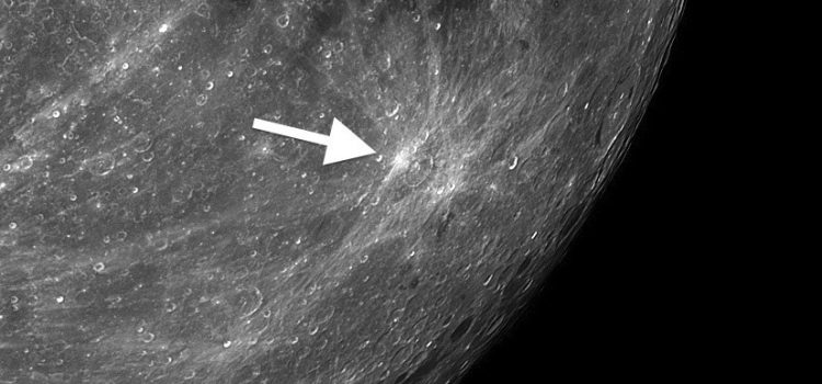 Furnerius A: Tiny Moon Crater Can Splash its Debris Over Nearly Half of the Moon's Surface