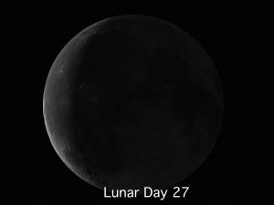 Lunar Day 27 Catch the Youngest Moon Youve Ever Seen