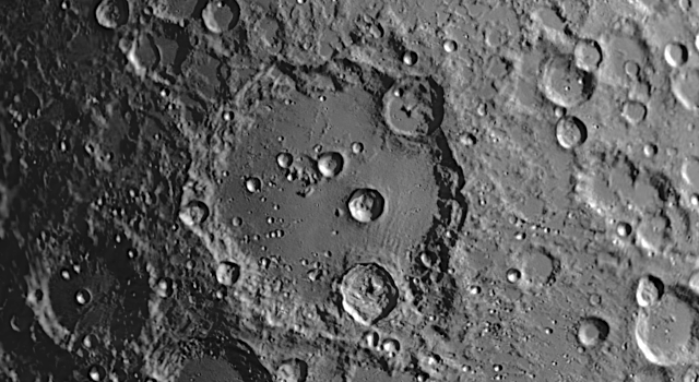 Lunar Day 22 – 29: Clavius Crater, Craterlets and Veil Nebula – What's Hot on the Moon