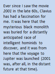 Clavius highlight fact