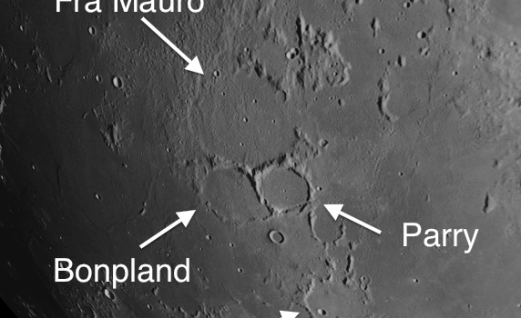 Critical to Understanding an Important Process That Shaped the Moon: Craters in the Fra Mauro Region