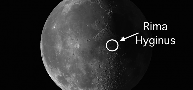 Rima Hyginus Moon Crater: July 25-31 – Craters, Mountains, and Valleys Are Set off With Astonishing Detail