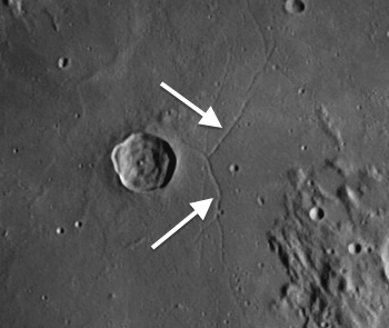 Rimae Triesnecker: One of the Moon's Many Enigmas