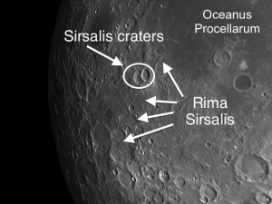 Rima Sirsalis - One of the Longest Rilles on the Moon
