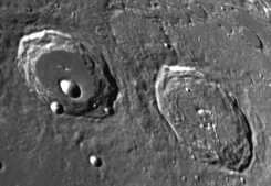 Best Time to View the Moon: View Two Moon Craters - Hercules and Atlas