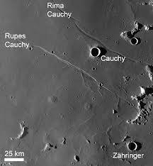 Rupes / Rima Cauchy