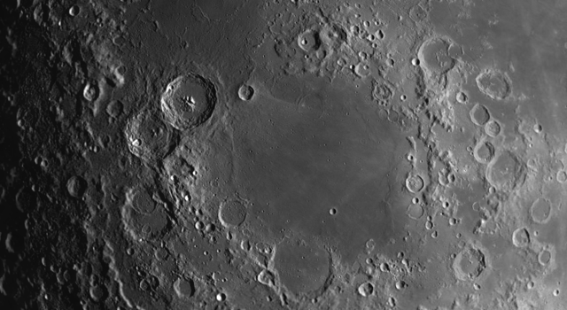 Intact #Craters and Multi-Ring Basin on the #Moon