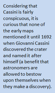 Fact about Cassini