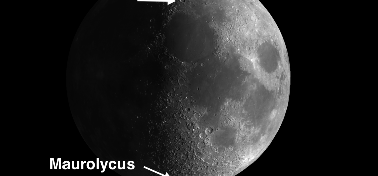 Complex Moon Craters with Terraced Walls