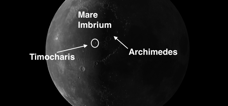 Moon Crater Timocharis Has Number of Complexities
