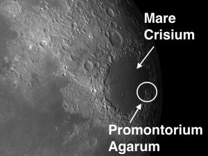 Promontorium Agarum Full Moon to Lunar Day 20: Impressive Capes, Crater Chains and Comet Lovejoy