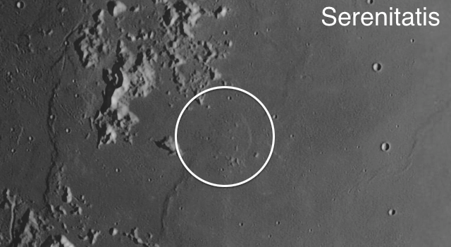 Valentine Dome on the #Moon