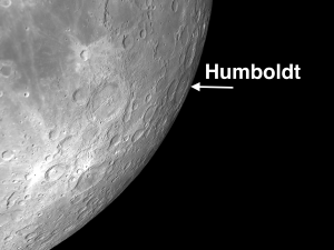 humboldt - Full Moon: Impressive Capes, Crater Chains