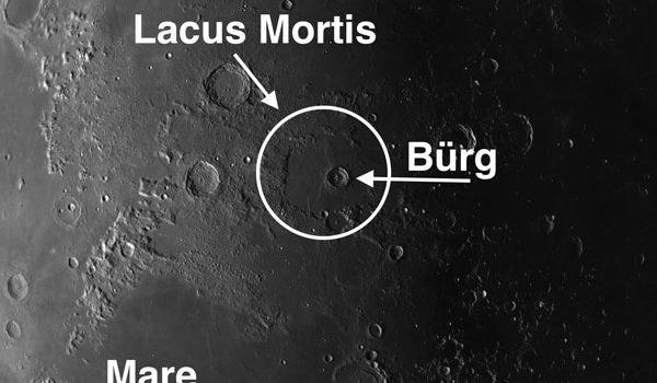 Burg – Complex #MoonCrater with Scalloped and Wavy Rim