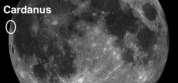 Cardanus and Galilaei: #MoonCraters with Unique Features
