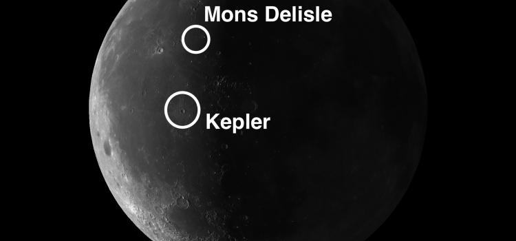 For the Over-Imaginative Among Us: Mons Delisle and the Crater Kepler