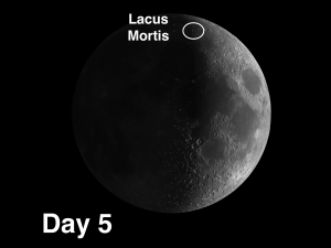 """Lake of Death"" on the Moon - Lacus Mortis"