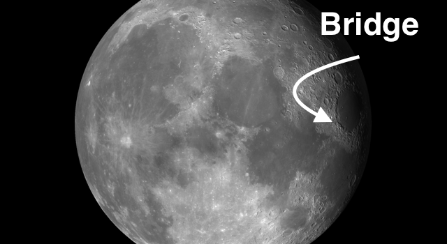 An Unusual Feature on the #Moon: O'Neill's Bridge
