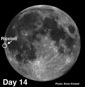 #MoonCrater Riccioli and Phenomenon Called Libration