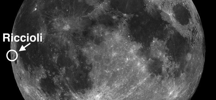 #MoonCrater Riccioli and Phenomenon Called Libration