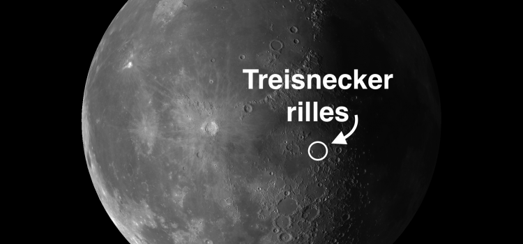 Triesnecker Rilles on the Moon: Looks Like a Railway Switchyard