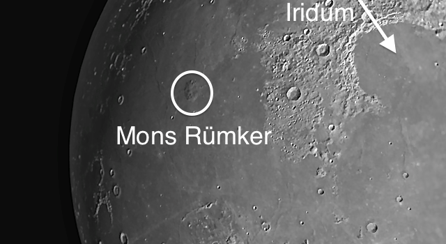 Mons Rümker: Extensive Complex of Domes on the #Moon