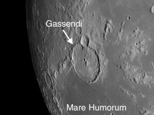 Gassendi and Mare Humorum