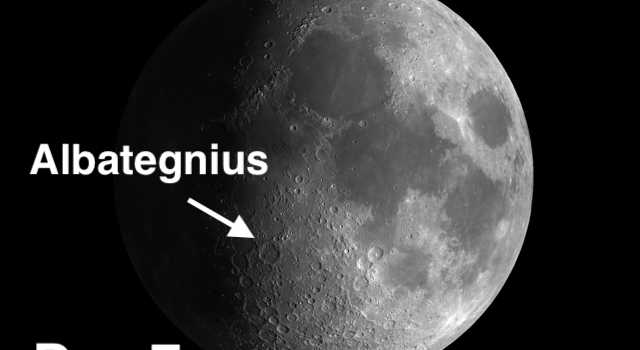 #MoonCrater Albategnius – Can You Spot the Evidence?