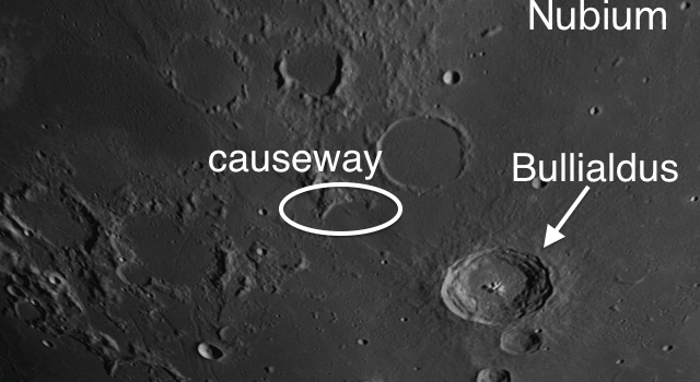 Bullialdus: Most Conspicuous #MoonCrater on Mare Nubium