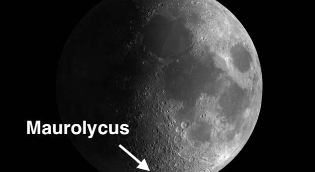 Maurolycus – Largest and Most Conspicuous #MoonCrater in the Lunar Highlands