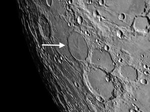 Wargentin moon crater