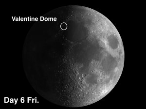 Valentine Dome and Vernal Equinox