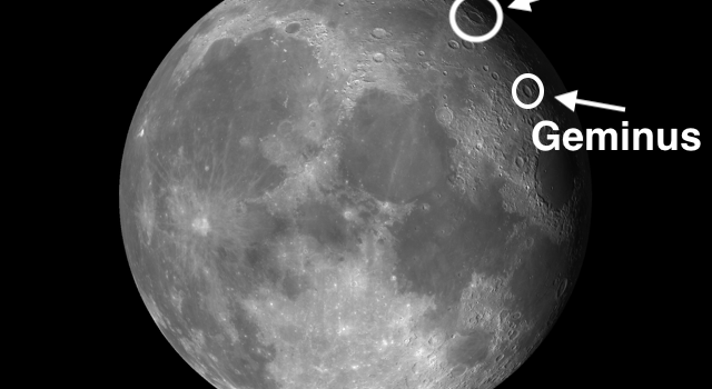 Concentric #MoonCraters and Endymion and Geminus