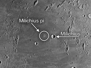 Milichius dome fields