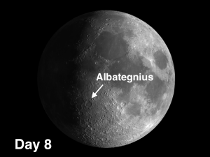 Albategnius on Moon