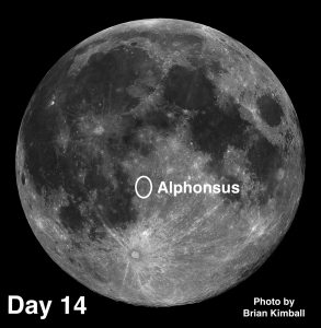 Trio of #MoonCraters: Aristillus, Alphonsus, and Archimedes