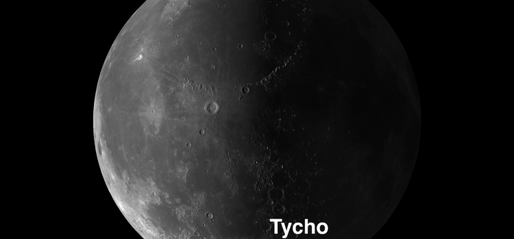 Tycho #MoonCrater: One of the Moon's Showpieces
