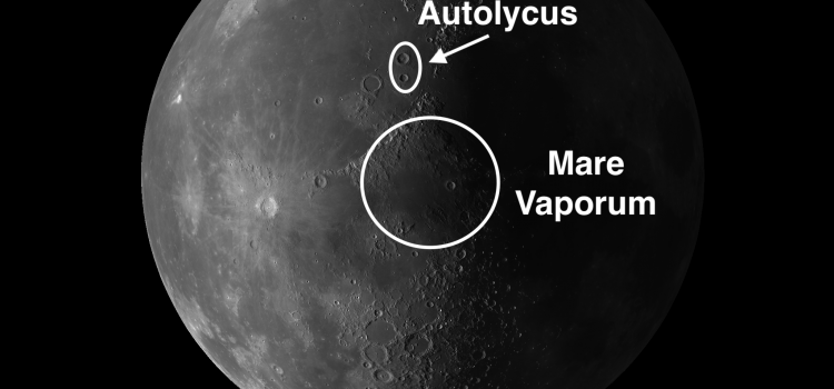 Mare Vaporum and the #MoonCraters Aristillus & Autolycus