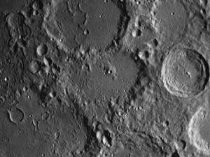 moon crater Regiomontanus