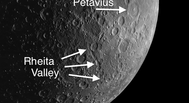 Similarities of Rheita Valley on the #Moon and the Grand Canyon