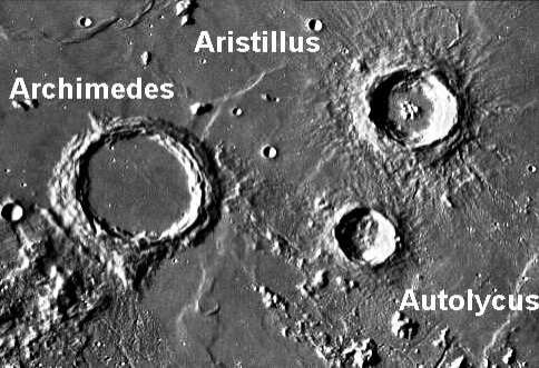 Mons Piton and the Crater Archimedes