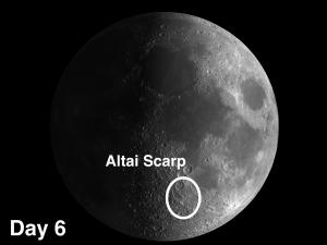 Altai Scarp (Rupes Altai)