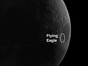 Flying Eagle on the Moon