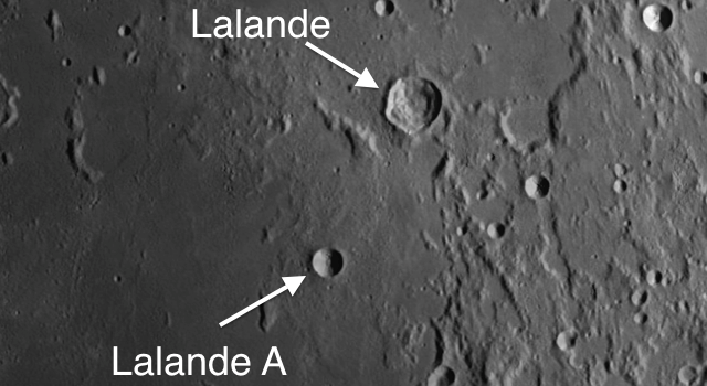 Simple and Transition #Moon Craters