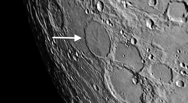 Unique Shapes of Craters on the #Moon